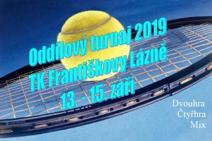 TK - Oddílový turnaj 2019 - poutač